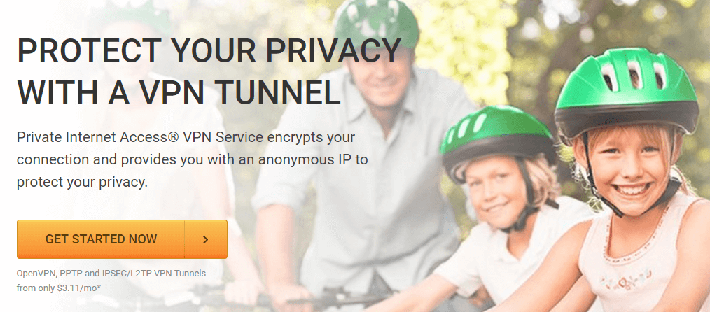 Private Internet Access is one of the best cheap VPN services.