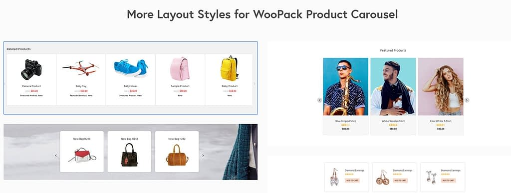 example of woocommerce modules