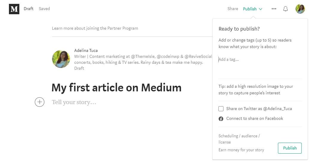 the best free blogging sites medium