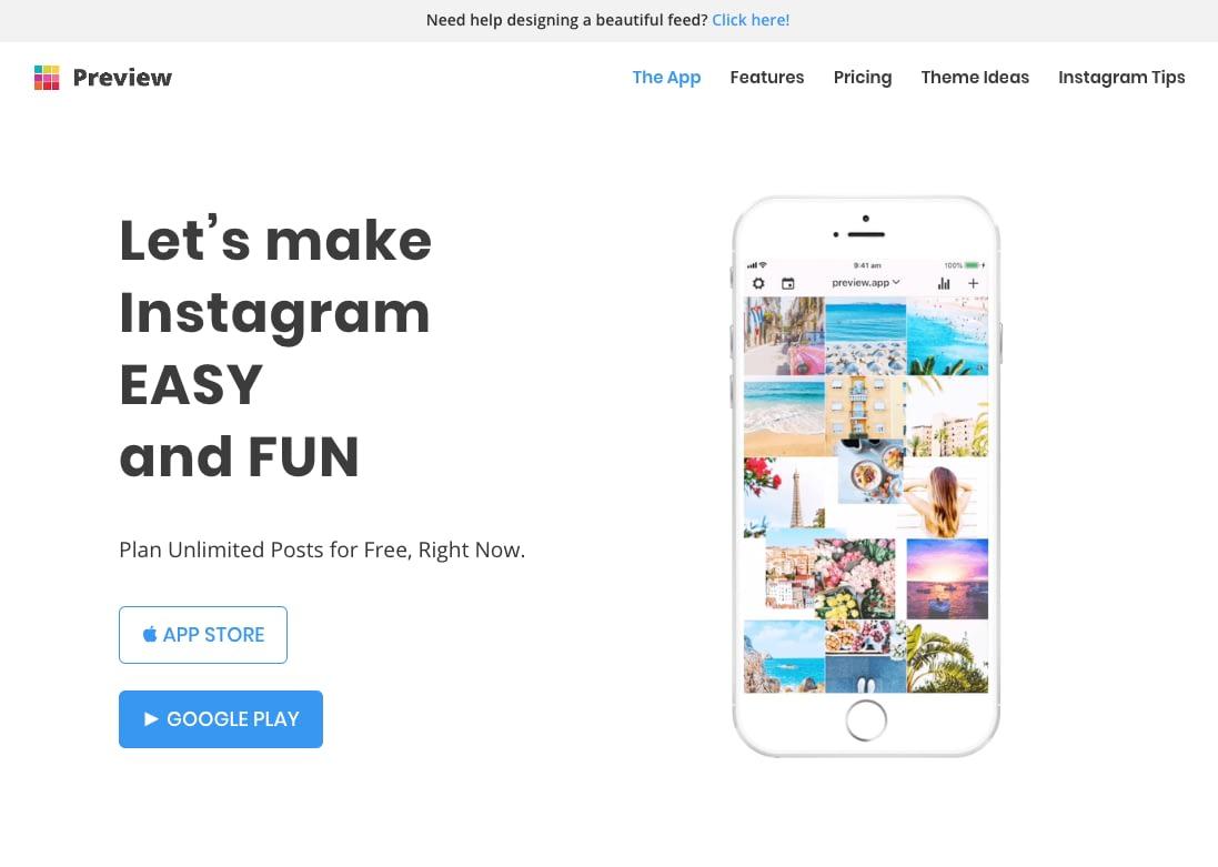 Instagram planners