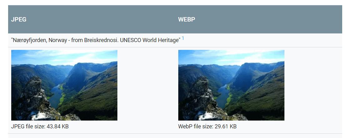 what is webp?