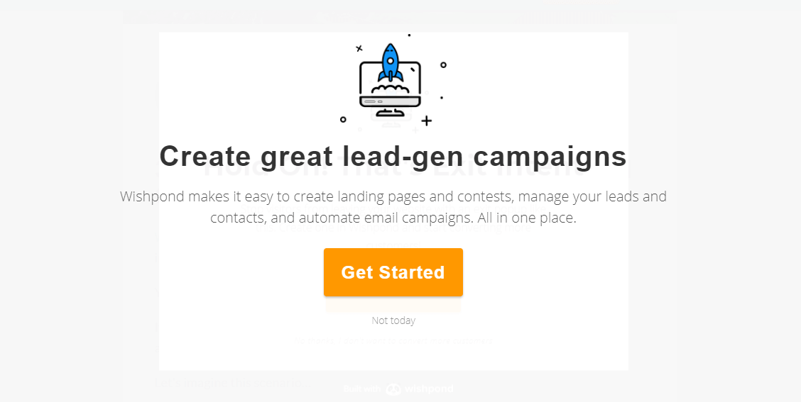 Personalized pop-ups encouraging users to sign up for a membership.