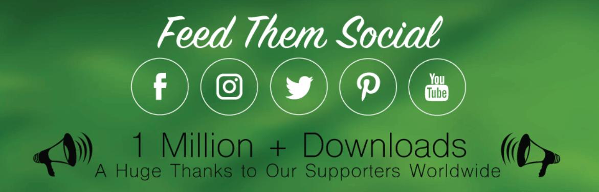 The Feed Them Social WordPress plugin.