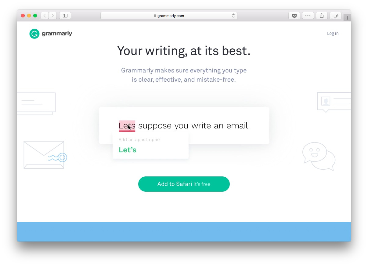 how to edit a blog post: Grammarly can help