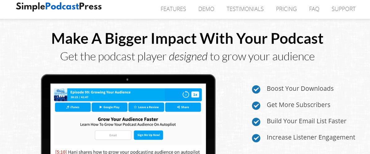 The SimplePodcastPress WordPress Plugin Plugin