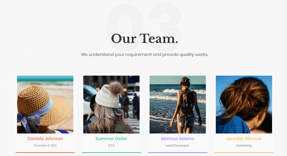 How to write an about us page that showcases your team members