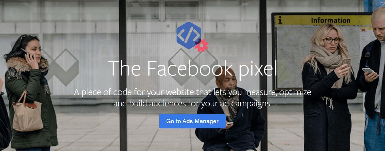 The Facebook pixel website.