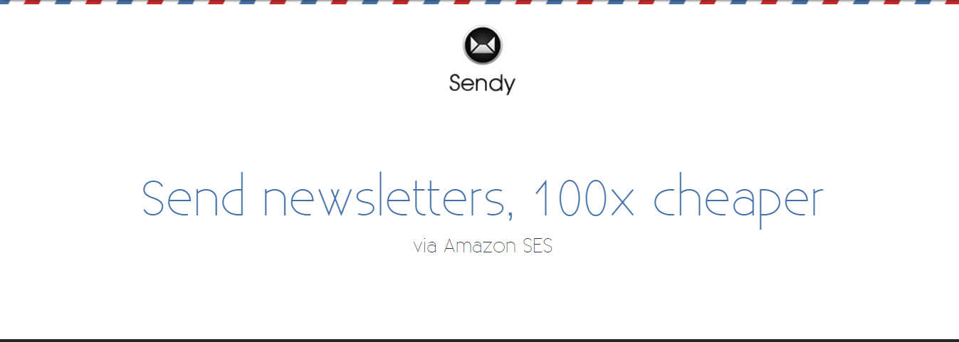 Sendy is the overall cheapest email marketing software out there