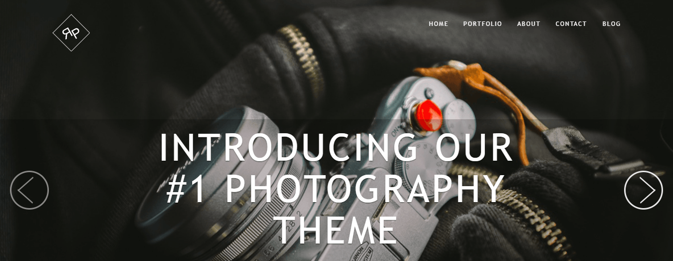 RokoPhoto, one of ThemeIsle's Premium WordPress Themes