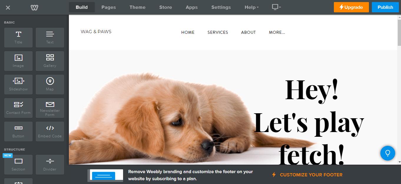 Weebly vs. WordPress Website Builder
