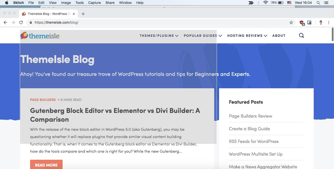 How to take screenshot on computer for Mac