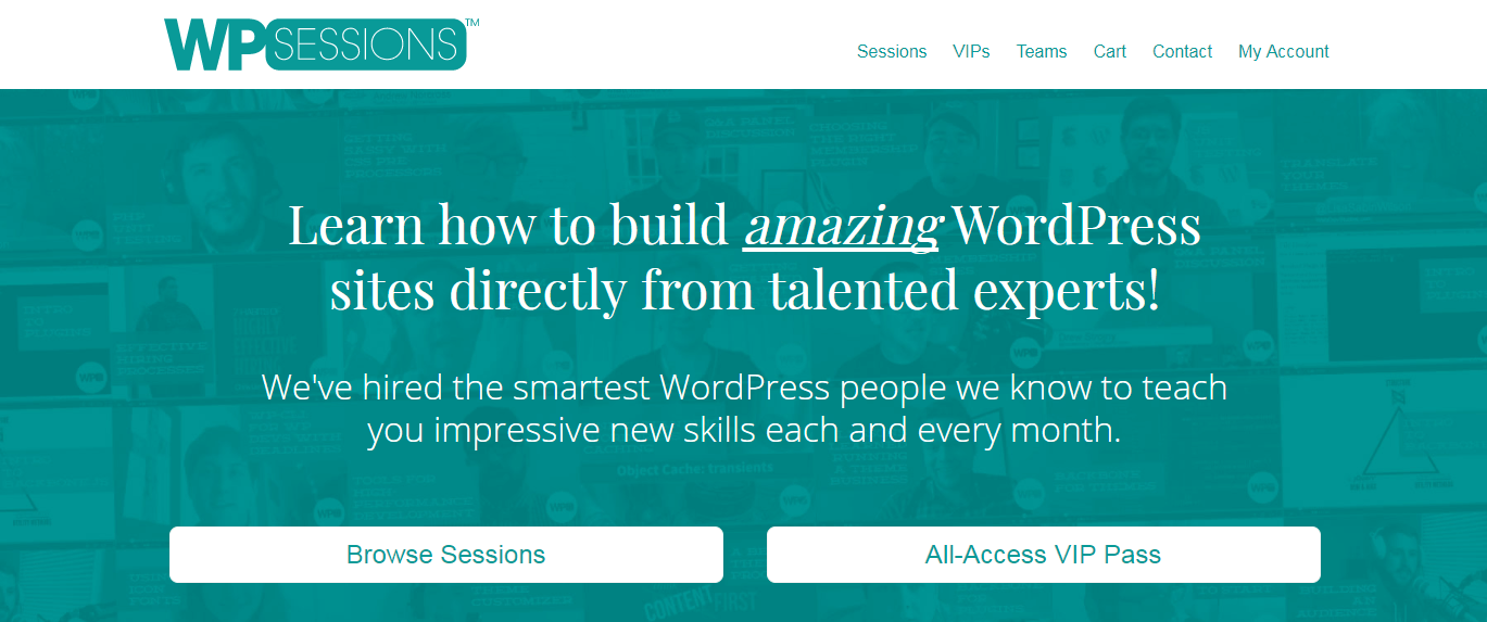 The WPSessions website.