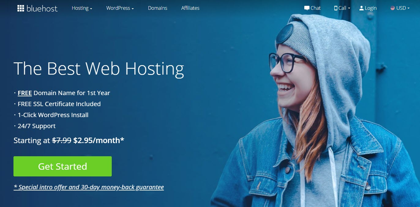 Bluehost offers cheap unlimited hosting plans