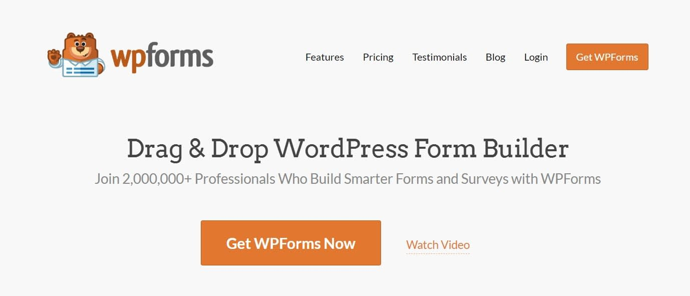 WPForms includes tools to help you create lead generation forms