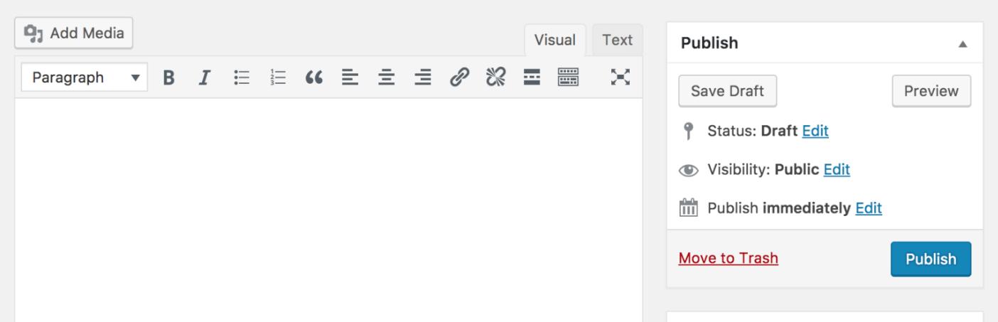 The Classic Editor plugin.