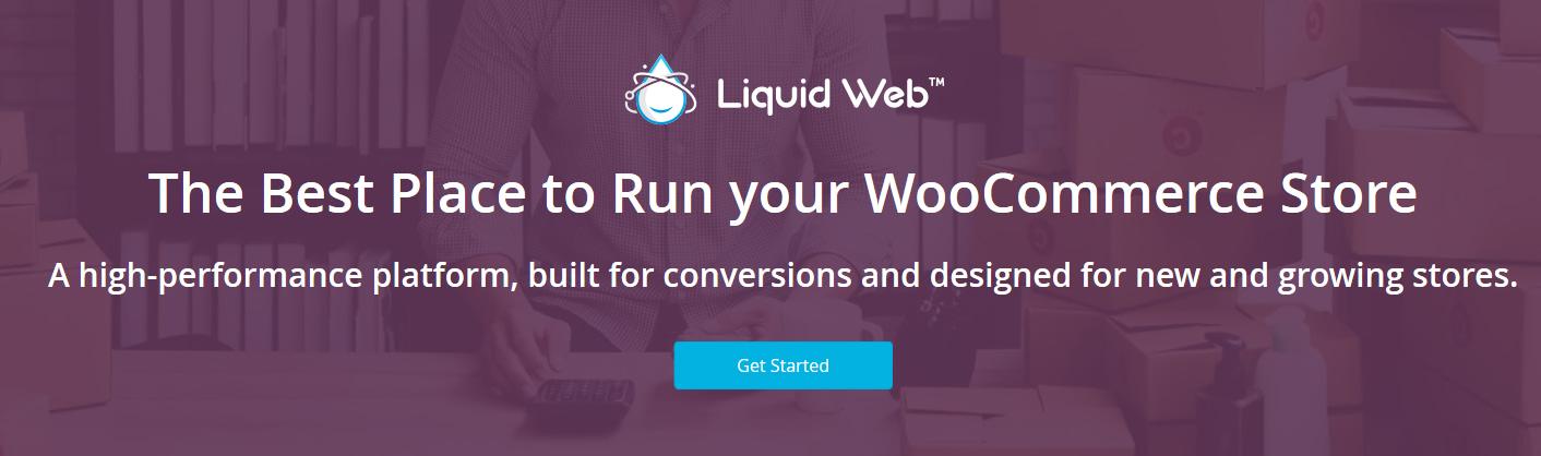 The Liquid Web website.