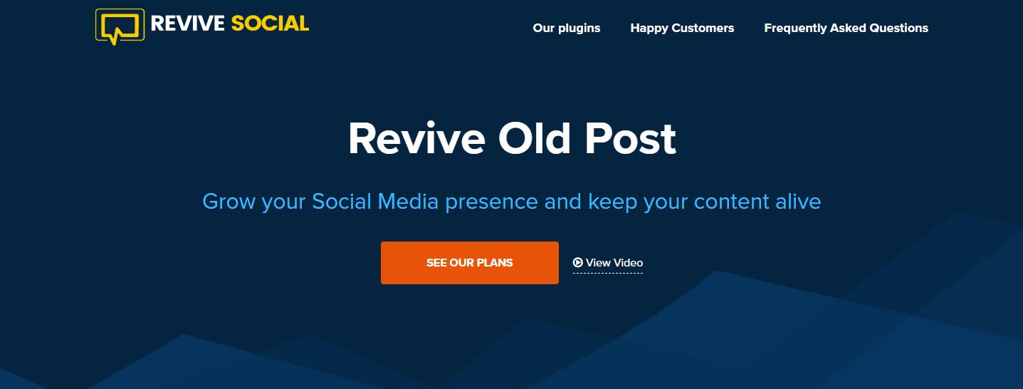 The Revive Social plugin.