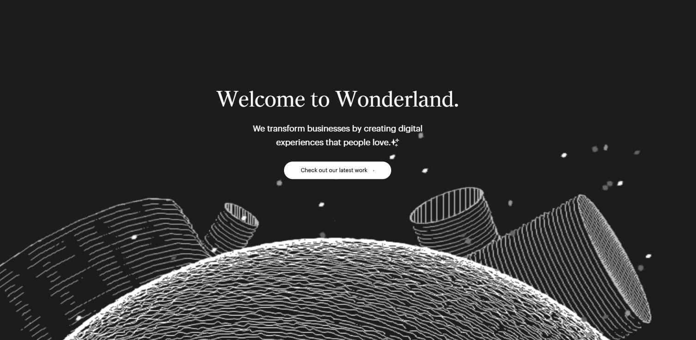 The Wonderland business website.