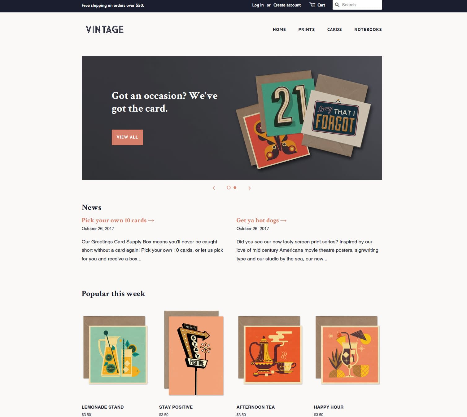 minimal is one of the free Shopify themes