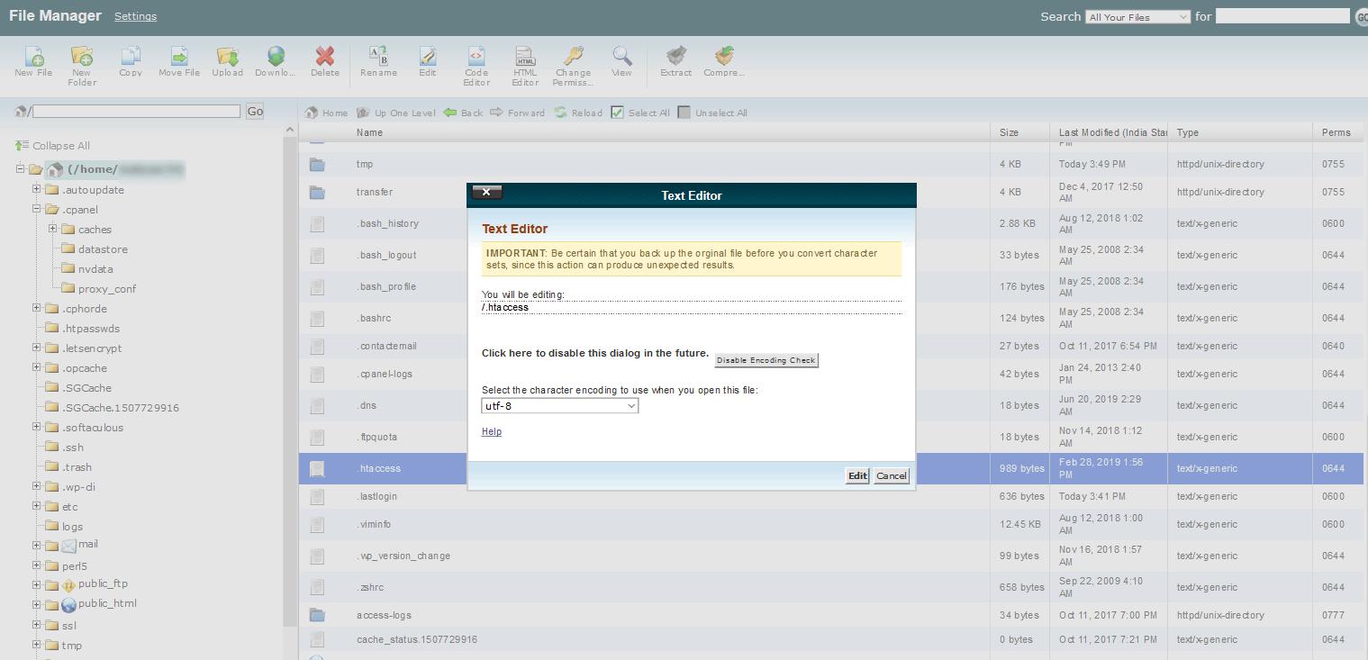 Edit .htaccess file to add 301 redirect in WordPress