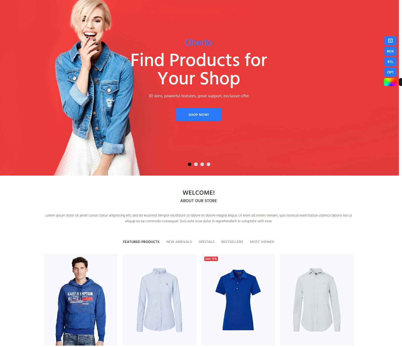 best shopify themes #1: wokiee
