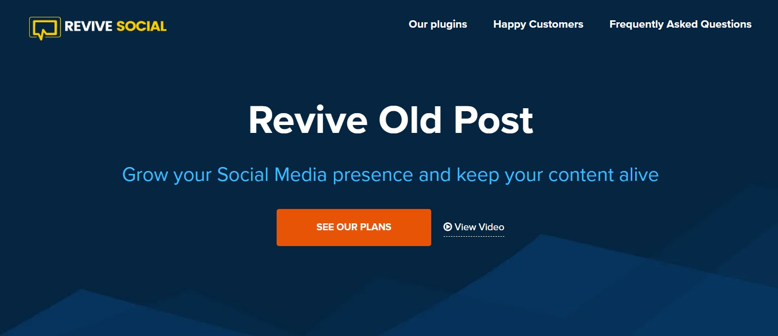 Revive Old Posts is one of the best Lead Generation Tools