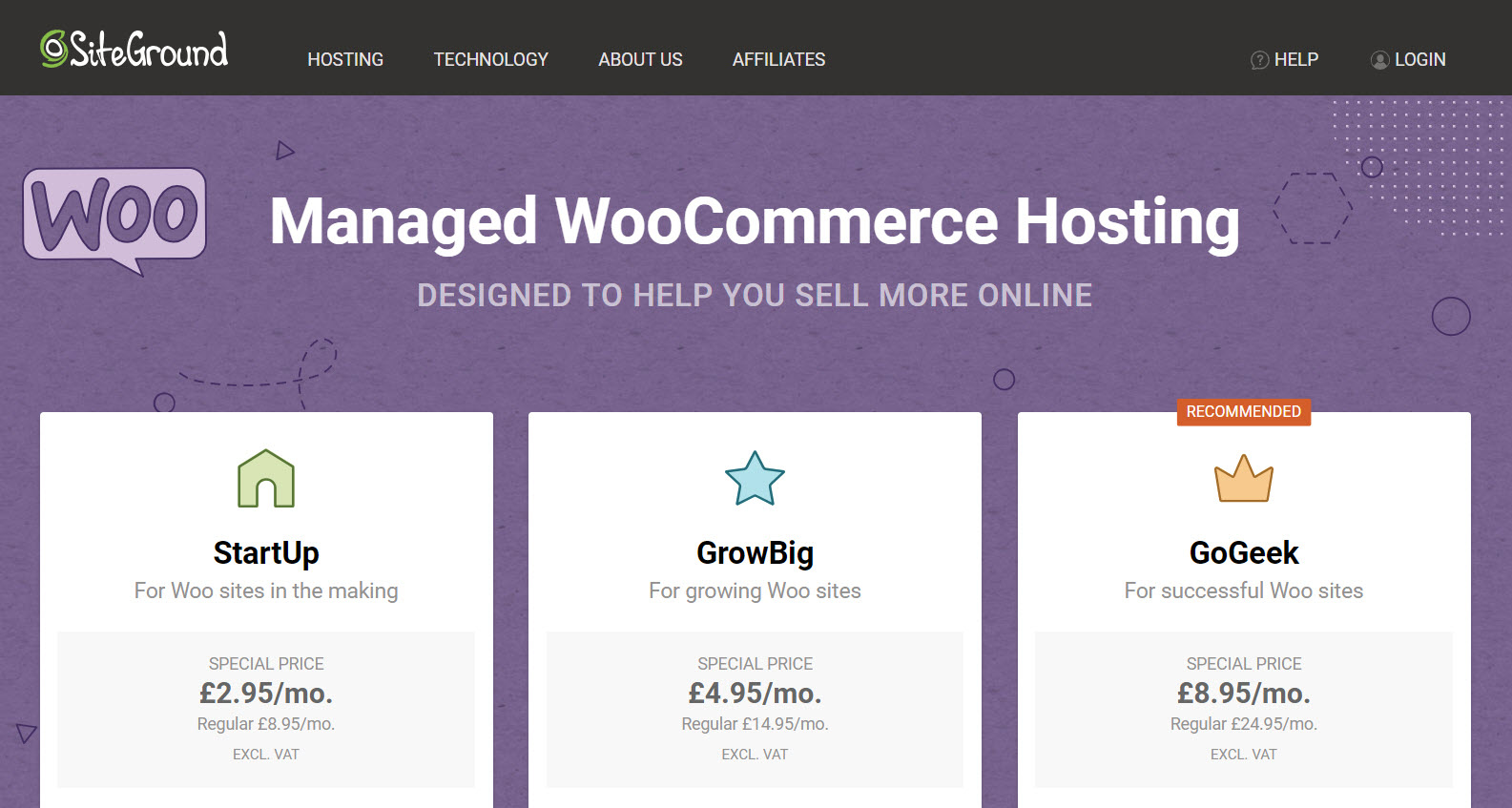 Hosting is an important part of eCommerce security