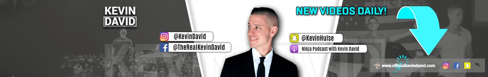 Kevin David YouTube Banner