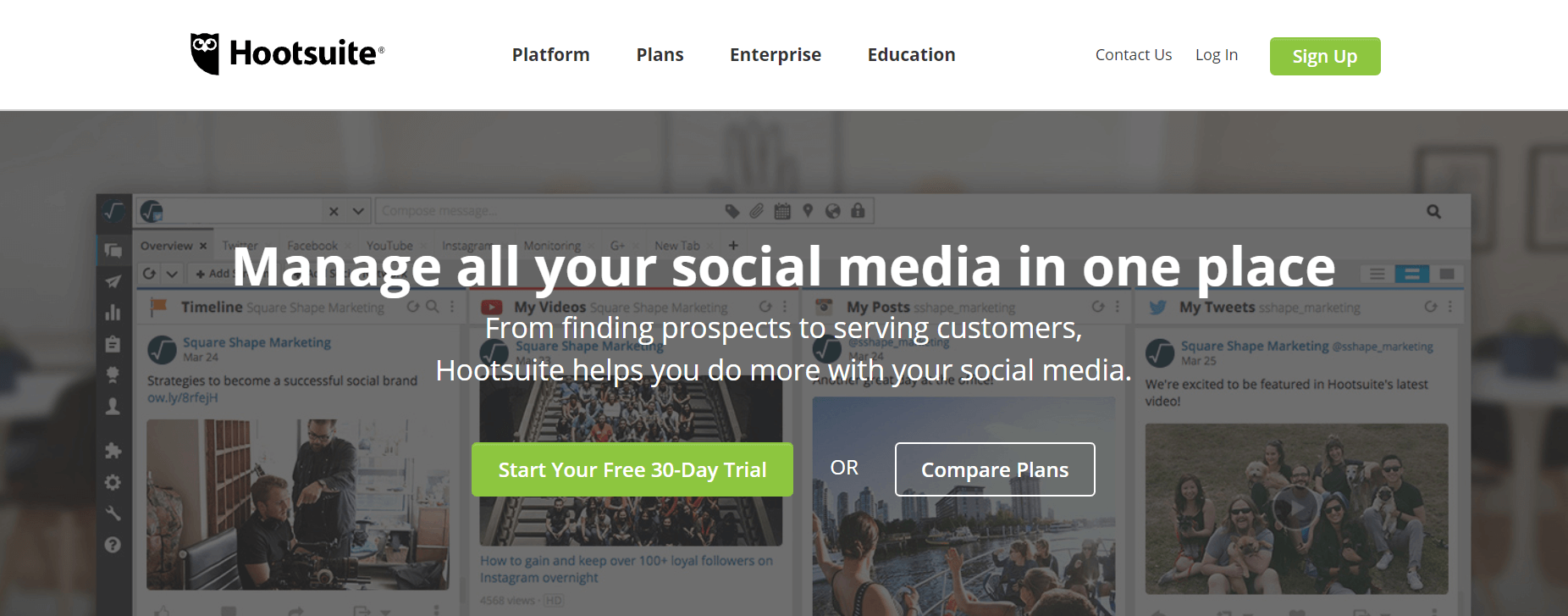 Social Media Strategy Template: Scheduling Tool