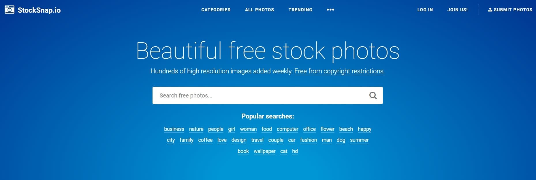StockSnap is one of the Best Free Stock Photo Sites