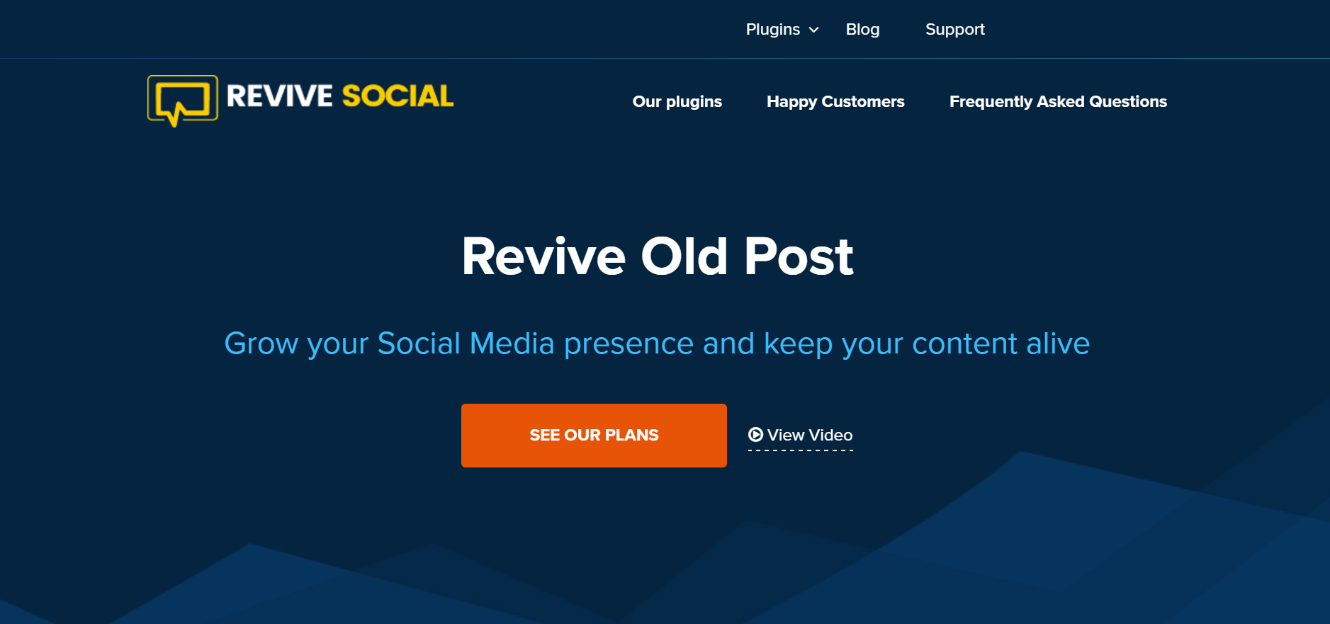 The Revive Old Post plugin.