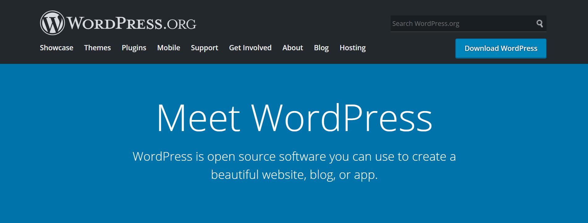 Meet WordPress, the best website builder for small business
