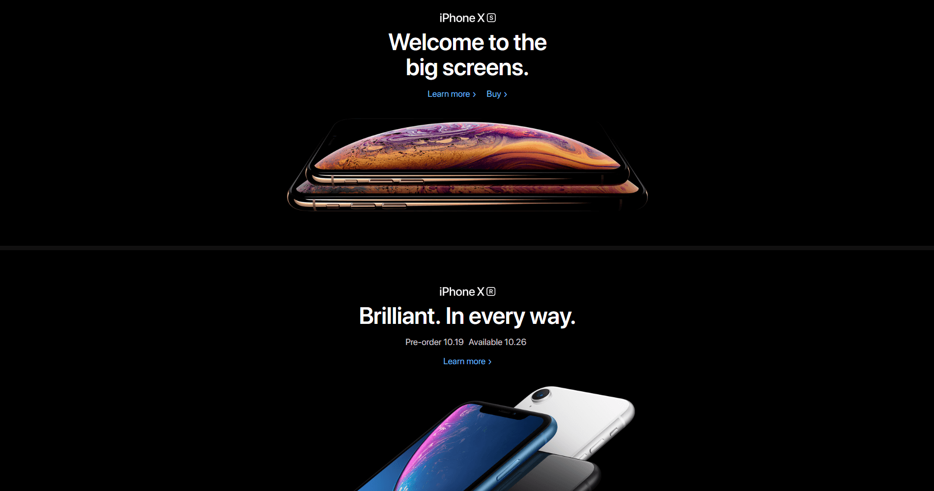 The Apple website.