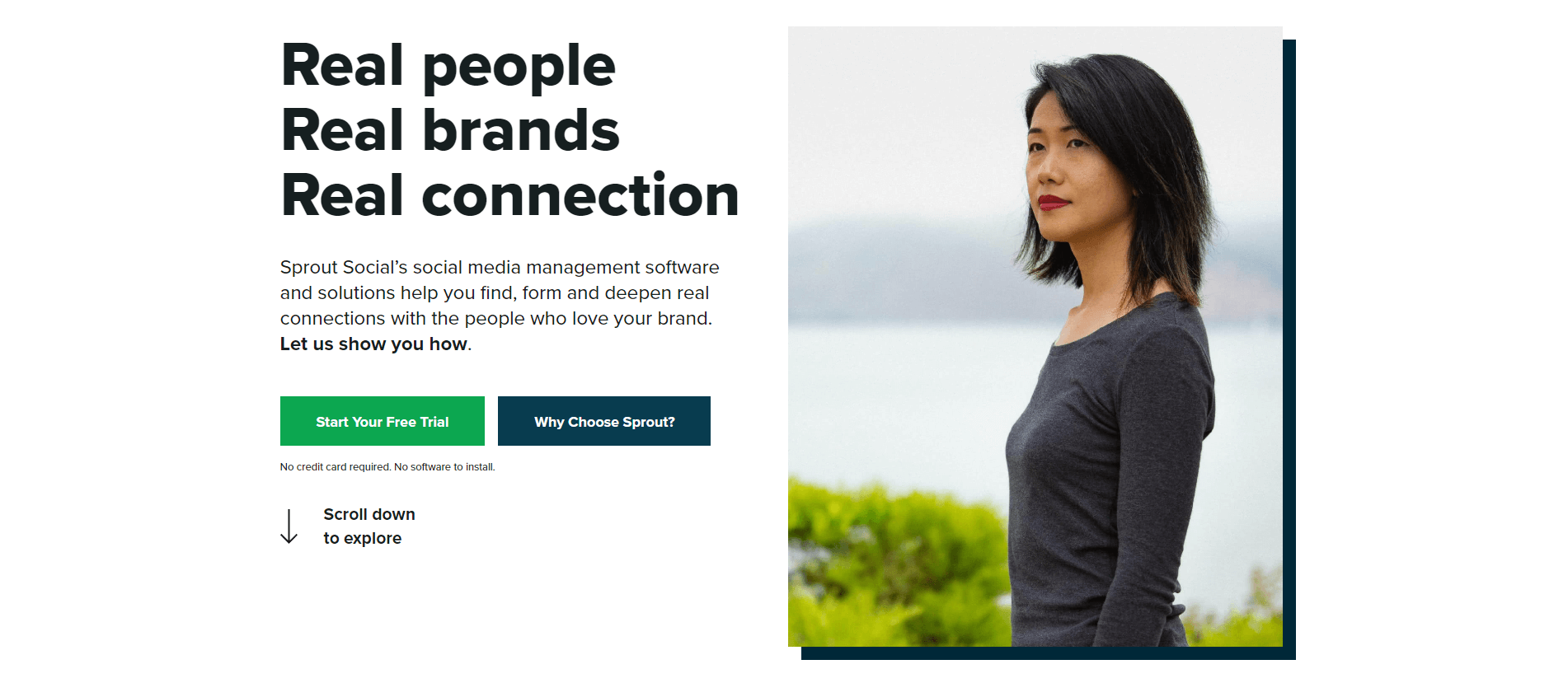 Sprout Social - one of the best digital marketing tools for content marketing.