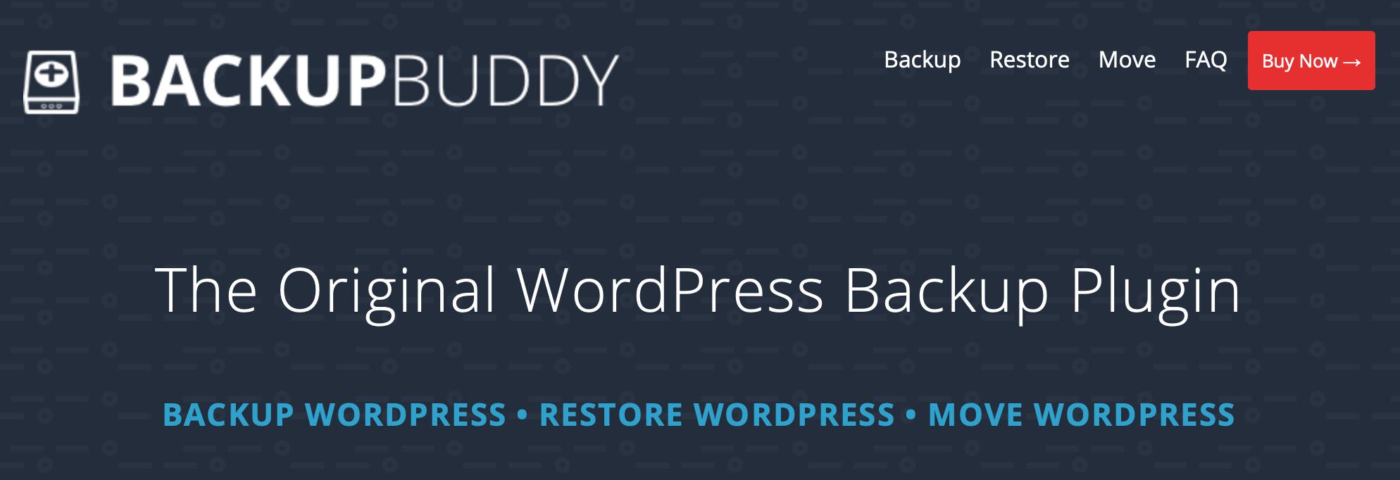 BackupBuddy is one of the best VaultPress alternatives
