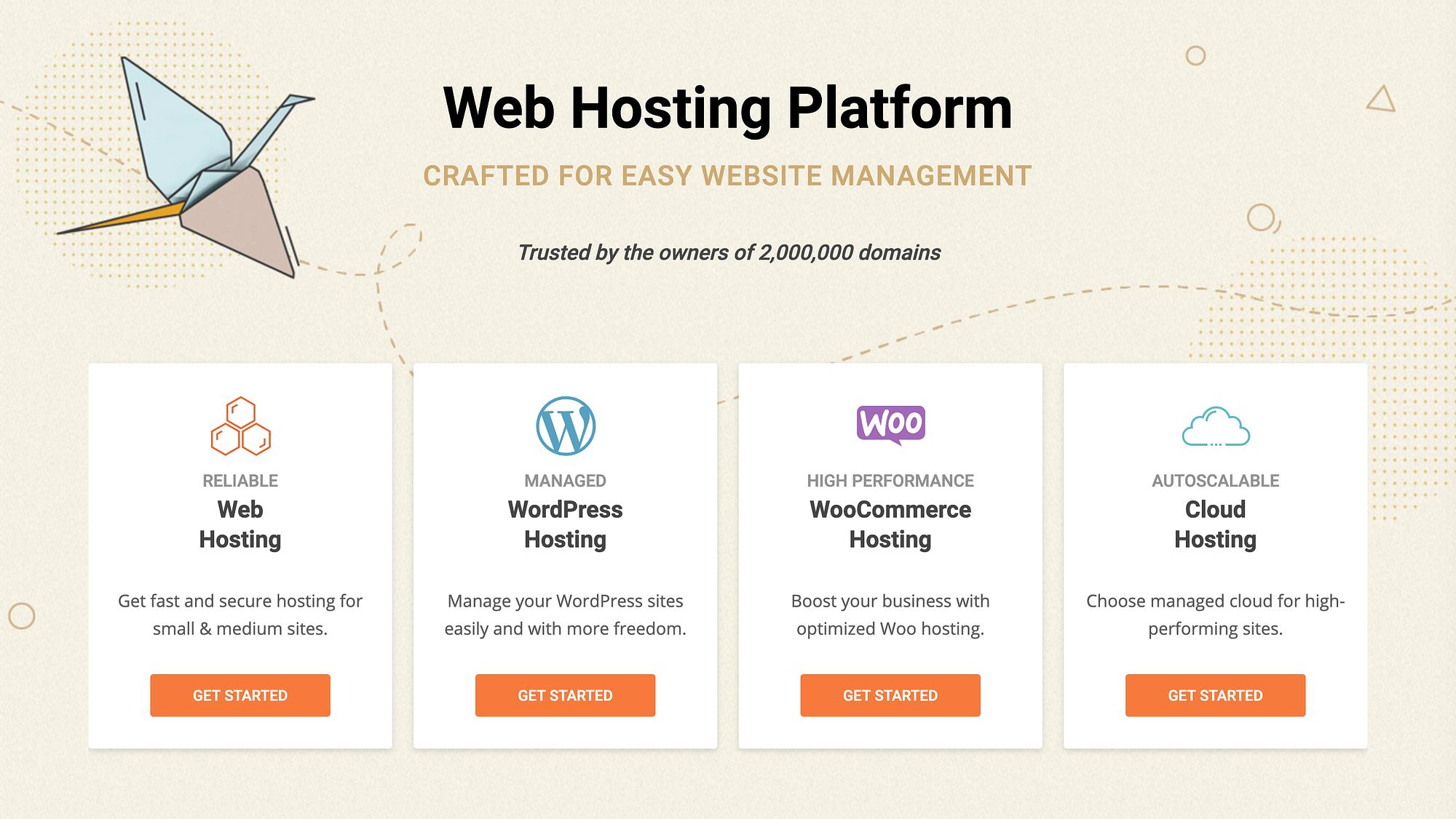 SiteGround's Homepage.