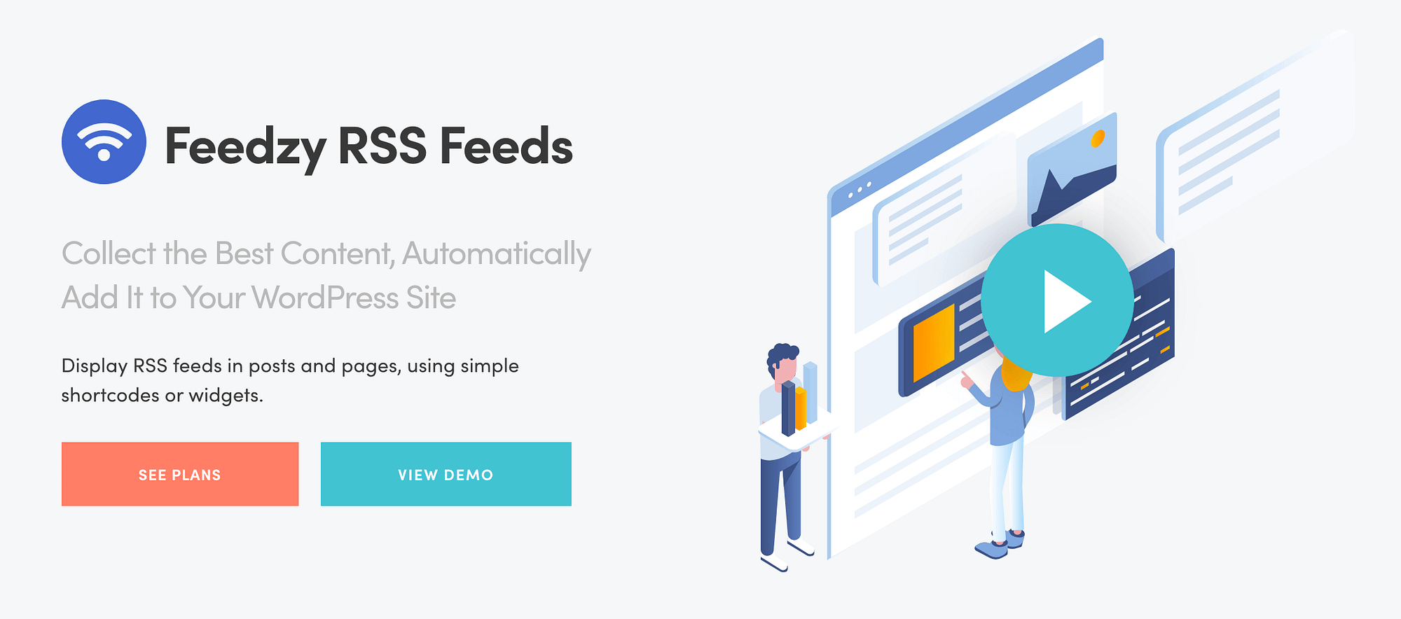 The Feedzy RSS Feed plugin can help you overcome writer's block