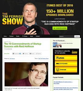 Tim-Ferriss-WordPress-Front-Page