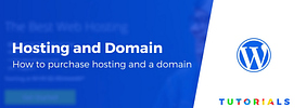 How to Buy Hosting and a Domain Name for Your WordPress Blog