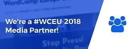 ThemeIsle Is an Official Media Partner at WordCamp Europe 2018! #WCEU