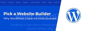 Best Website Builder for Small Business? 3 Reasons to Pick WordPress