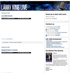 Larry-King-WordPress-Front-Page