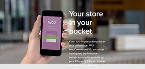 WooCommerce mobile app