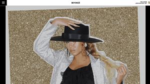 Beyonce-WordPress-Front-Page