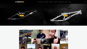 Yess-BMX-WordPress-Front-Page