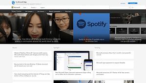 Microsoft-News-WordPress-Front-Page