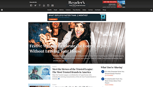 Readers-Digest-WordPress-Front-Page