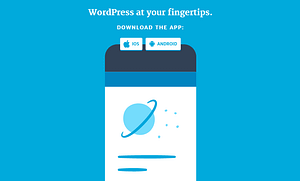 official mobile apps to manage WordPress