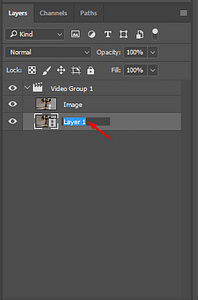 Renaming layers to make animated GIFs easily