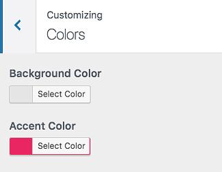 Özelleştirici renkler